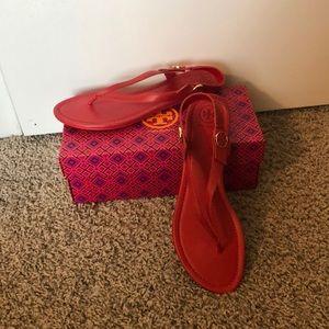 Brand New Tory Burch Minnie Travel Sandal